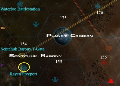 Legionnaire sell locations Rayen Freeport and Planet Corrion