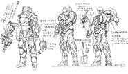 Main power suit conceptual design