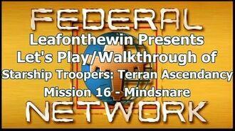 Walkthrough - Mission 16- Mindsnare