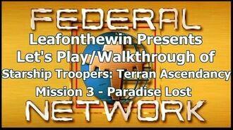 Walkthrough - Mission 3- Paradise Lost