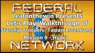 Walkthrough - Mission 9- Hydra