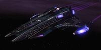 Jem'Hadar heavy escort carrier
