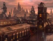 Farius Prime city