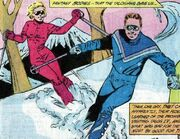 Skiing DC Comics
