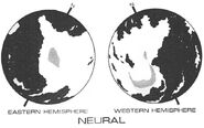 Neural planet surface
