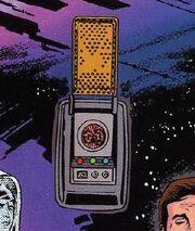 Starfleet communicator 2260s DC Comics