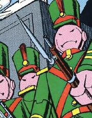 Bayonet DC Comics