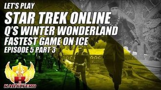 Let's Play Star Trek Online E5P3 Q's Winter Wonderland 2014 ★ Fastest Game On Ice