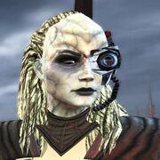 Liberated Borg Klingon Female