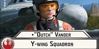 """""""Dutch"""" Vander Y-wing Squadron"""