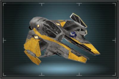 Hangar Jedi Starfighter