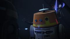 Chopper vs Imperial astromech