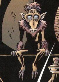 Grappa's monkey