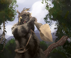 Ewok Warrior SC