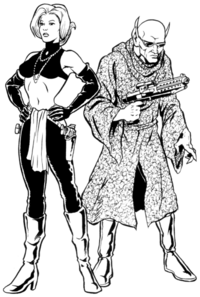 Silver Fyre and Kraaken