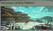 Gampassa Landing Platform