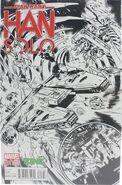Star Wars Han Solo 1 ZING Pop Culture Sketch
