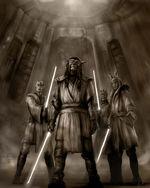 Rough sketch Jedi by chrisscalf