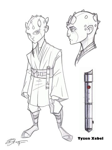 File:Jedi Padawan Tyzen Concept Art by Hodges Art.jpg