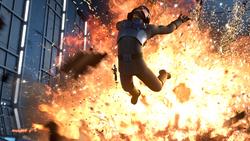 Kallus Caught in Explosion