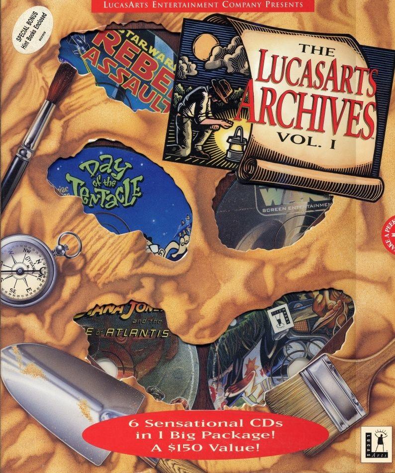 File:The LucasArts Archives I.jpg
