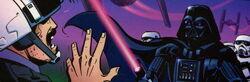 Vader confronts rogor