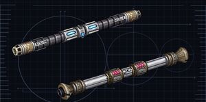 Jedi Double-bladed lightsabers