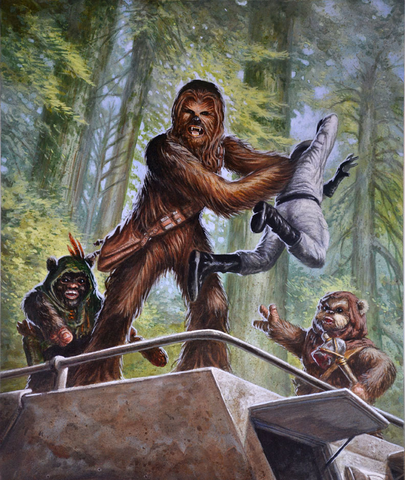 File:Chewbacca TCG 2016 Store Championship Kit Card.png