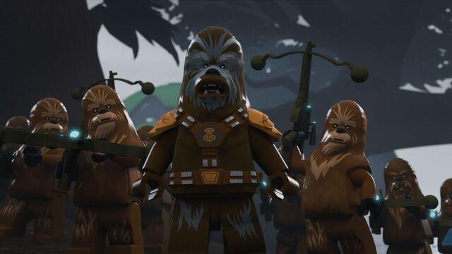 File:Wookiee warriors Peril on Kashyyyk.jpg