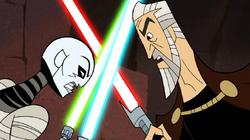 Dooku Ventress duel