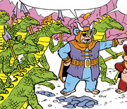 Graak and the Lizard Warriors