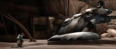 TX-20 targets Obi-Wan and Numa