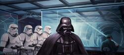 Vader's fist TCG Battle of Hoth