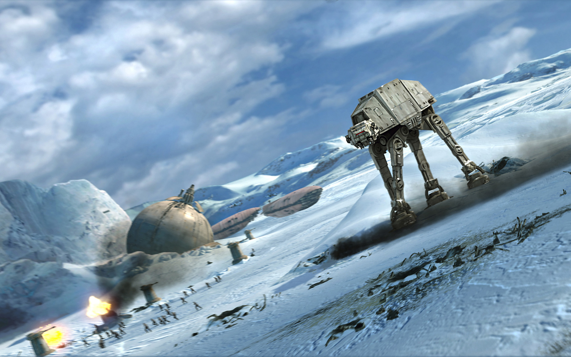 battle of hoth (0 bby) | wookieepedia | fandom powered by wikia