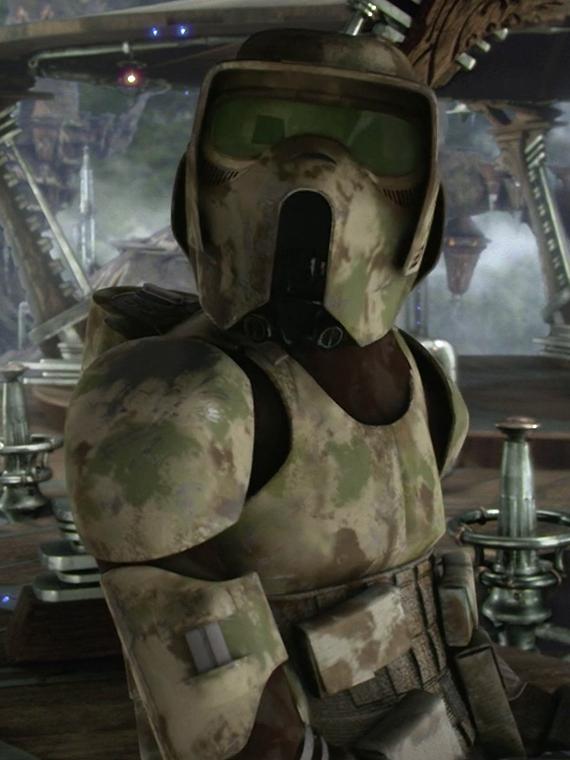 Unidentified clone swamp trooper Wookieepedia FANDOM