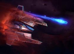 Fenn Rau Protectorate Starfighter XWM