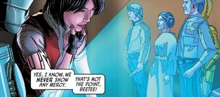 Triple Zero Beetee Aphra Han Luke Leia Ark Angel