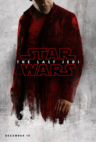 File:Oscar Isaac Poe Dameron The Last Jedi Teaser Poster.jpg