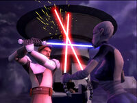 Kenobi vs Ventress TCWLD