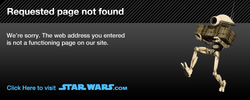 The New Official Star Wars site