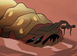 Sad nightwatcher worm