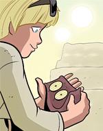 Anakin Skywalker gets Threepio photoreceptors