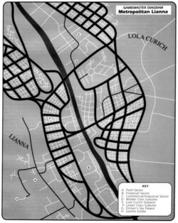 Metropolitan Lianna Map