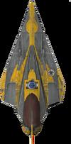 Jedistarfighter detail