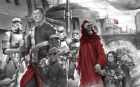 Jedha orphan march