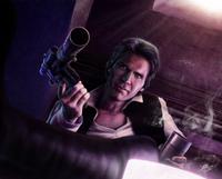 Hans Heavy Blaster Pistol EoD