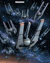 Infinite Empire fleet