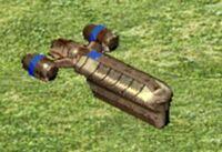 Gunship transport
