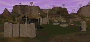 Talus imperial forward base camp