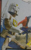 Kingdom Come Peacemaker in Mandalorian armor